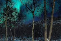 Piękno Ziemi :  Zorza