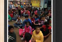 Author Visits / These are photos from schools that Joanne has visited.