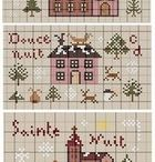 Cross Stitch Christmas / Christmas cross stitch is the best! / by Susan Stetz
