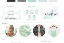 {Blog Design Ideas} / My favorite design ideas for my blog.