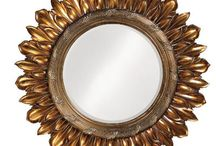 Round Mirrors / You can spice up a plain, boring wall with a round mirror or even add more than one! See some of our favorite round mirrors below.