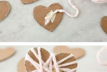 DIY : hearts and valentine