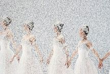 In the Snow / My favorite scene in The Nutcracker is the dance in the snow by the snowqueen and the snowflakes