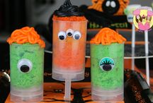 #Halloween Party Food ideas / All of our spooky treats on one board!