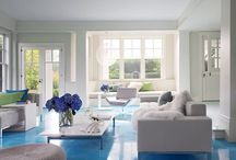 Cool Blue Interior Design Ideas / Are you looking for a new design for your home and you really love the blue color? Lucky, we've got what you're looking for, an album of gracious and fresh blue interior designs, so that you could find your inspiration and use it into your home!