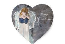 Winter & Yule Art By Fairychamber / Art and illustrations by Niina Niskanen