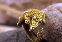 Animal golden rings