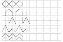 Zrakové rozlišovanie, grafomotorika