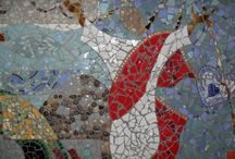 Great mosaics from found materials