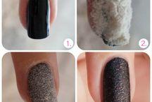 Makeup og negle inspiration