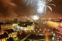 Oradea at Night