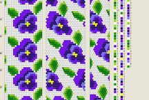 Sznury kwiatowe - wzory