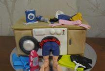 Bolo Máquina Lavar Roupa