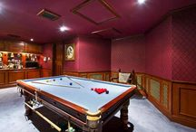 Game of homes: Five properties with room for a snooker table / Snooker professionals from all over the world are now battling it out at the finals of the World Snooker Championships, which started on Saturday and will continue until May 4th at the Crucible Theatre, Sheffield.  OnTheMarket.com looks at five properties with games rooms where any snooker aficionado would like the chance to pot the black.