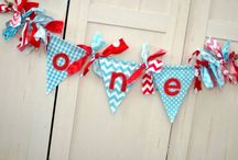 Shabby High Chair Banners