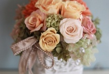 Flowers / Preserved Flower Arrangement, natural & chic