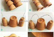 Red Clay Flower Pot Art
