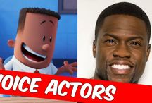 Captain Underpants Movie Voice Actors