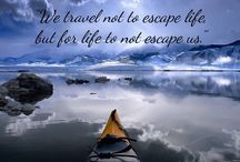 Travel quotes! / Travel quotes to rekindle the traveller within you!