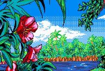 Pixel tropical