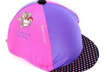 Horse Riding Hat Silks / Bright and beautiful range of horse riding hat silks available at www.thehorsediva.co.uk