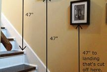 Escalera decoración