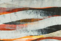 Abstracted / Land, ocean and other abstracted eyecandy in paint