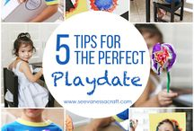 Ingredients for the Perfect Playdate / Fun playdates hosted by some of our favorite bloggers!