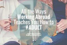 How to live, work and study abroad / Living abroad, work abroad careers, summer programs abroad, work abroad programs, expat lifestyle, adventure travel, study abroad programs, volunteer abroad, cities around the world, expat experiences, expat tips, study abroad packing, expat life.