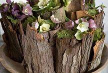 Baker flora arrangement
