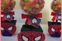 Spiderman doğum günü