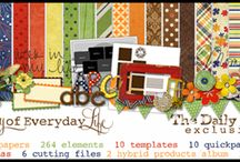 Digi Kits I Own / Keeping a catalog of kits I own so I can browse through them quickly / by Rebecca Nelson