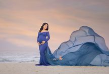 Poppy dress maternity dress for photoshoot mii estilo