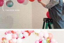 balon dinding