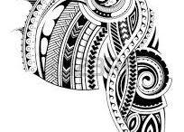 Polinéz tetoválások