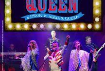 DANCING QUEEN, TRIBUTE TO ABBA & QUEEN / DANCING QUEEN, TRIBUTE TO ABBA & QUEEN Un tribute a los grupos ABBA y QUEEN, canciones que están gravadas en las mentes de todos los europeos. Una actuación que no puede faltar en los escenarios de los mejores hoteles.
