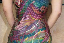 Japanese Tattoo / Japanese tattoos and tattoo designs