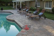 Pool Projects - Go Pavers / Paver Pool Deck and Coping projects installed by GoPavers.com in the Southern California area.