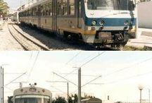 vlaky - Afrika