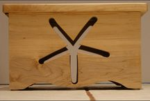 Wood Step Stools / We handcraft our wood step stools with a variety of hardwoods.
