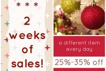 2 Weeks of Christmas Sales 2016