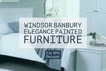 Banbury Elegance Painted Furniture Weekend Sale / Oak Furniture