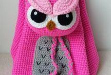 Mochilas en Crochet
