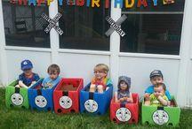 Thomas birthday for levi