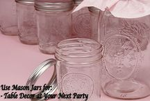 Uses for Mason Jars / From Kerr Mason Jars, to Ball Mason Jars, to off-brand mason jars, there are so many purposes for these cute and versatile glass jars. Find all the mason jar DIY projects, storage ideas, and food canning ideas you need, so you can make use of your extra jars.  This board is meant to educate and inspire on all things mason jar! From the home, to crafts, to food and storage, see all you need to know about mason jars here!