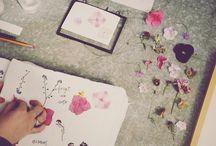 Art Diary Ideas / Ideas for my art diary.