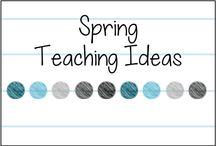 Spring Teaching Ideas / Teaching ideas for the primary classroom for spring holidays, March, April, May