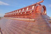 copper, metal roof & construction