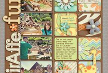 Grids / Scrapbook ideas with grid foundation
