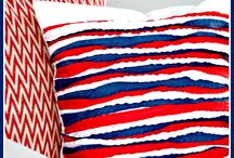 Recelebrate: 4th of July / Fun 4th of July themed craft and DIY decor projects